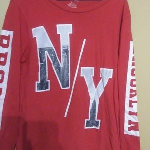 On Fire NY Long sleeve Tshirt